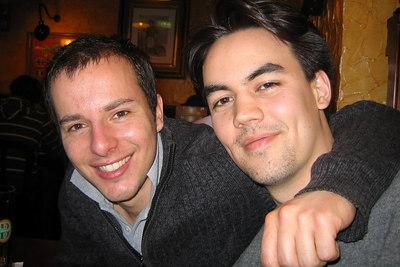 Michael and Alexander - Geneva, Switzerland ... March 1, 2007