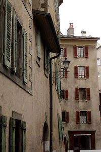 The old town - Geneva, Switzerland ... March 2, 2007 ... Photo by Emily Conger