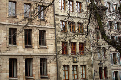 The old buildings - Geneva, Switzerland ... March 2, 2007 ... Photo by Emily Conger