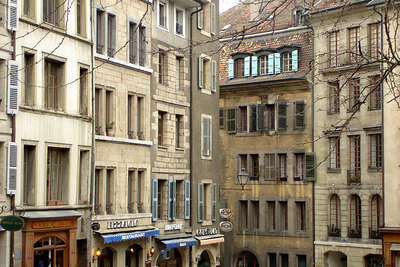 The buildings of old town - Geneva, Switzerland ... March 2, 2007 ... Photo by Rob Page III