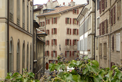 Old Town - Geneva, Switzerland ... March 2, 2007 ... Photo by Rob Page III