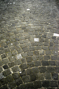 The cobblestone streets - Geneva, Switzerland ... March 2, 2007 ... Photo by Emily Conger