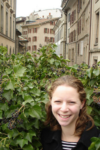 Emily and the Old Town - Geneva, Switzerland ... March 2, 2007 ... Photo by Rob Page III