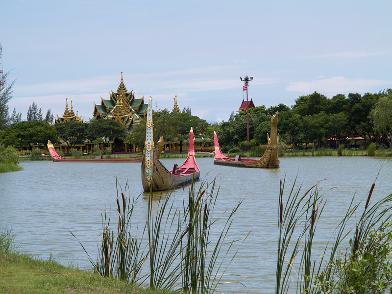 The Royal Water Course Procession at Ancient Siam