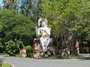 Thje Budda Image of Dvaravati Period in Ancient Siam