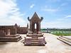 From the top of Prasat Phra Wihan (Preah Vihear) Si Sa Ket in Ancient Siam