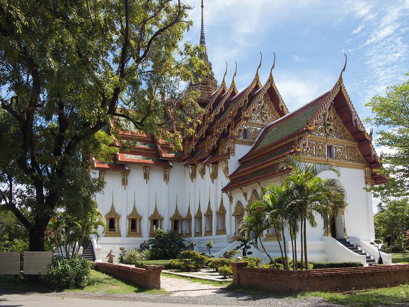 The Dusit Maha Prasat Palace in Ancioent Siam