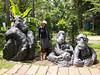 Hear no evil .......  at the Bangkok Dusit Zoo