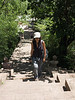 Climbing Prasat Phra Wihan (Preah Vihear) Si Sa Ket in Ancient Siam