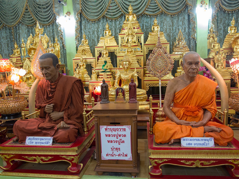 Famous Monks in Wat Takarong