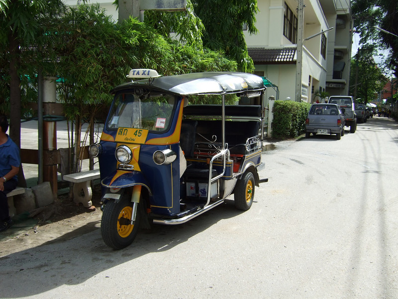 The Thailand Tuc Tuc Taxi