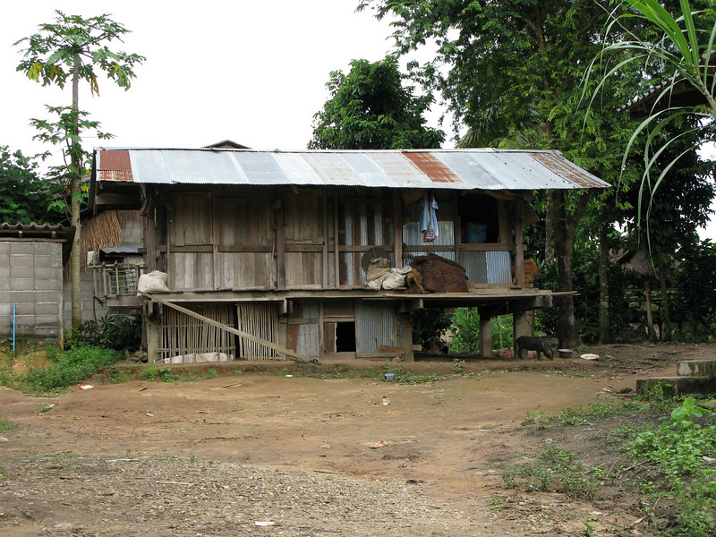 Karen village house.