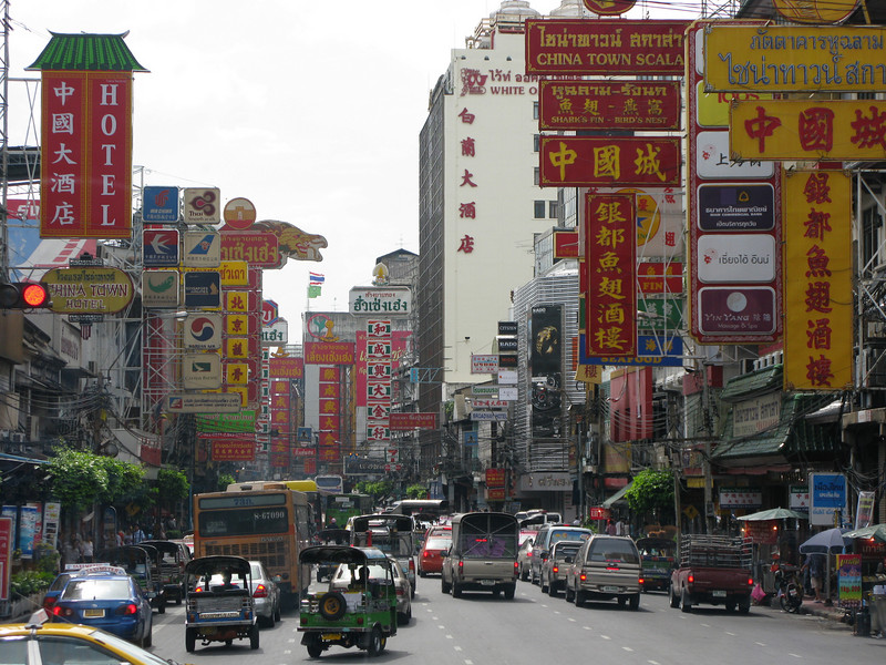 Chinatown in Bangkok
