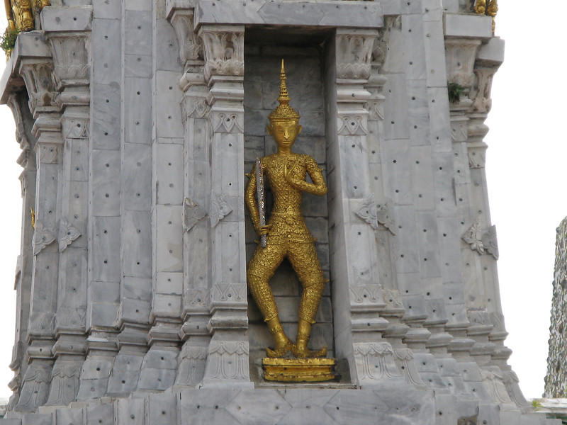 Architectural detail at Wat Po