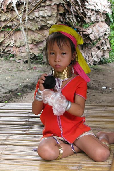 Padong Tribe girl ...