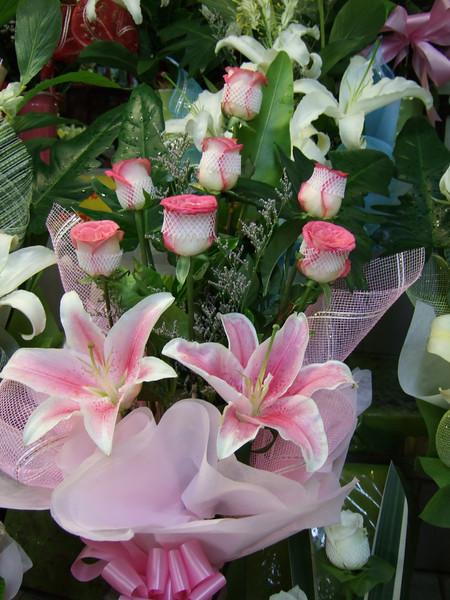 at the Pak Klong Talard Flower Market