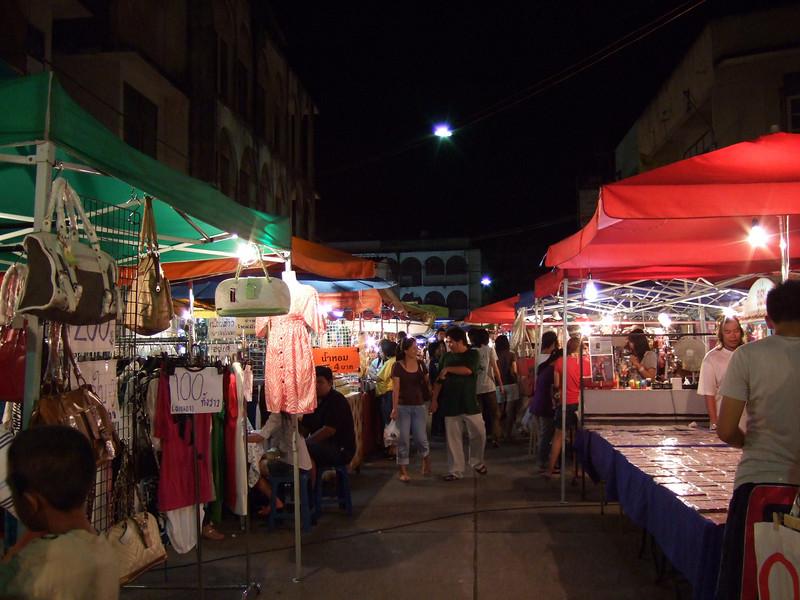 Night Market in Lampang