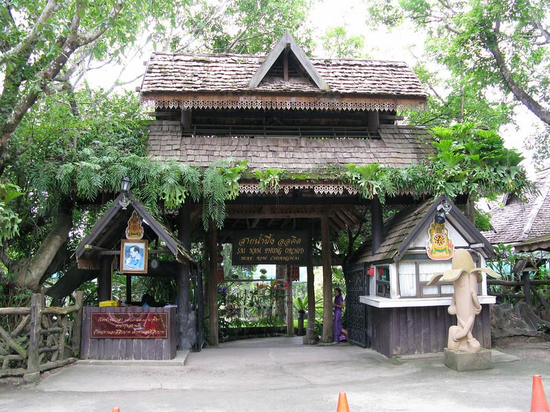 Sai Nam Pring Orchid Farm in Chiangmai