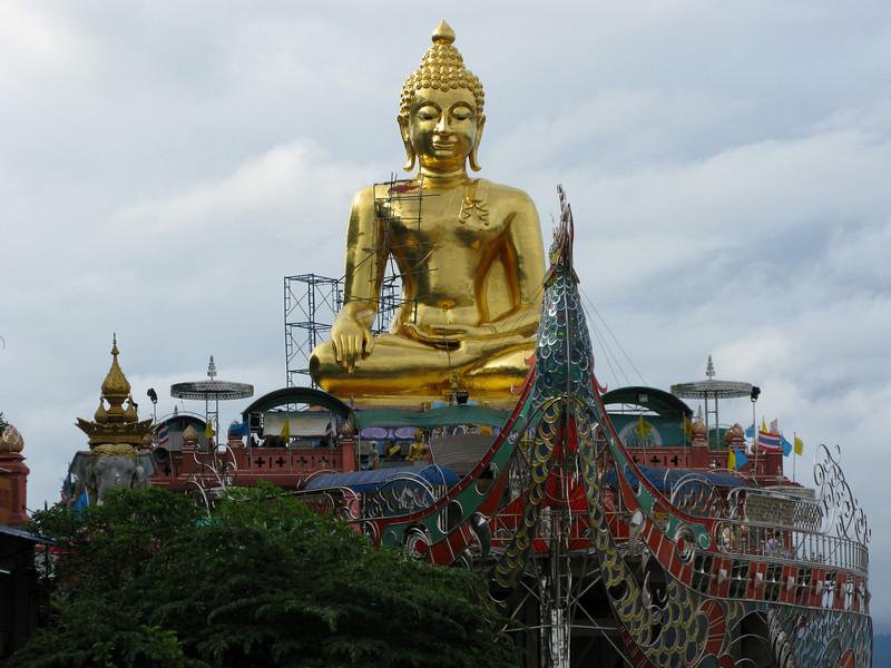 Budda Image on the Mae Kong River