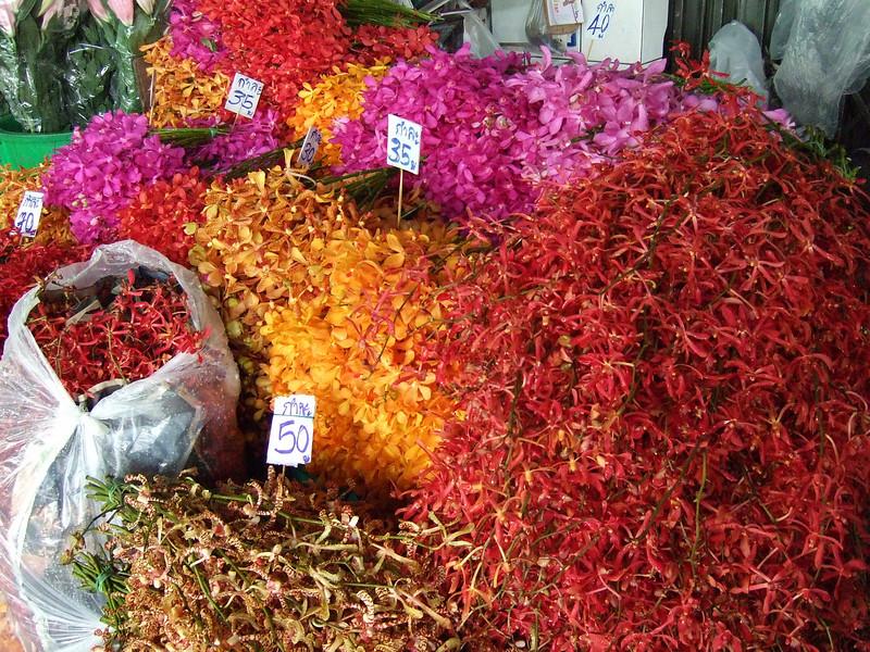 Pak klong Talard Flower Market