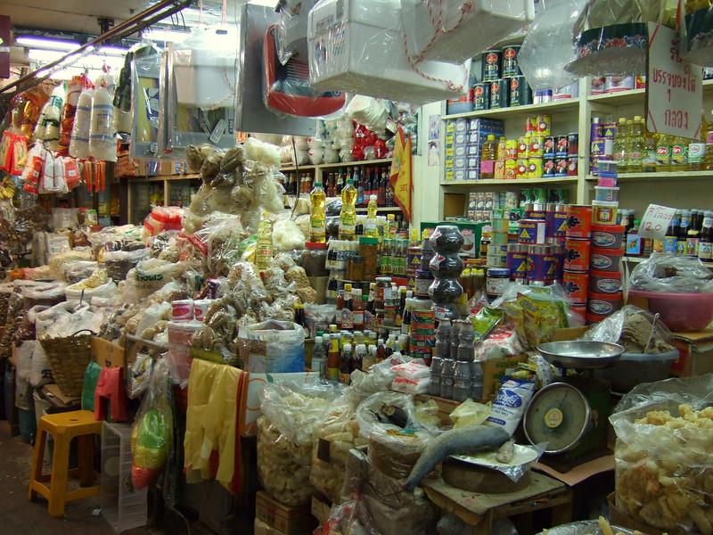 Indoor Market in Changmai