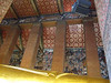 Ceiling decorations at Wat Po
