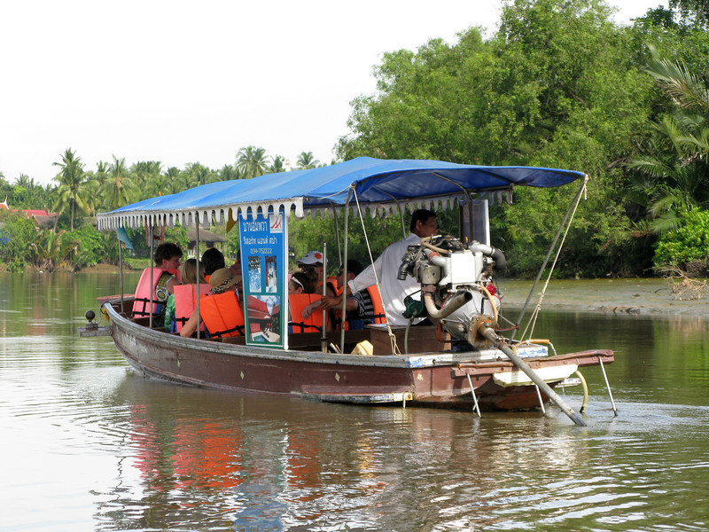 Boat Ride on the Maeklong River