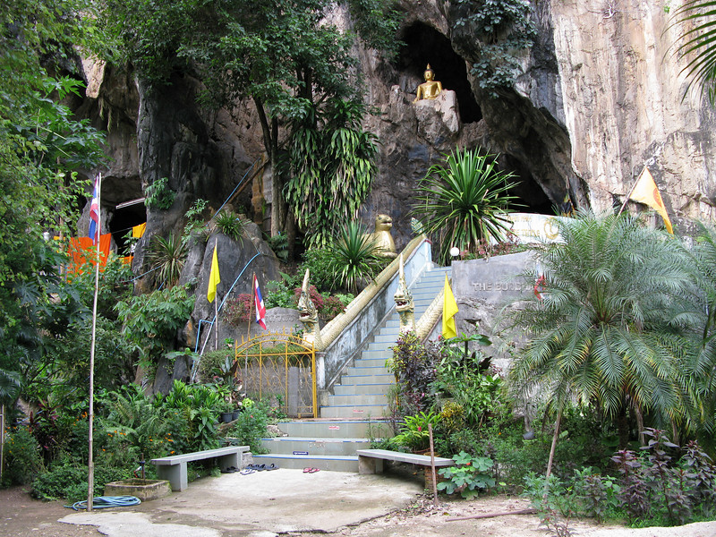 The Monk's Cave near the Maekok River