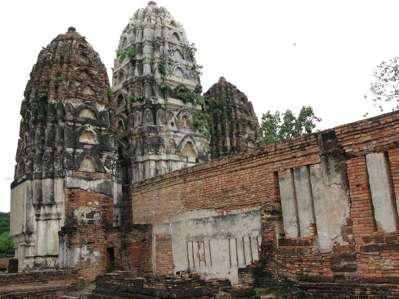 Ruins and Prangs at Sukhothai Historical Park