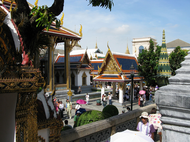 Grand Palace Grounds - Bangkok