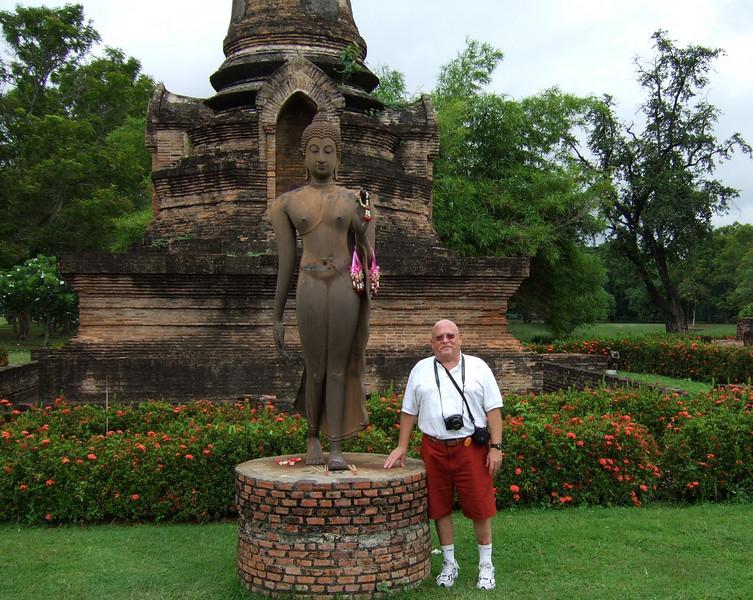 Tourist at Sukhothai Historical Park