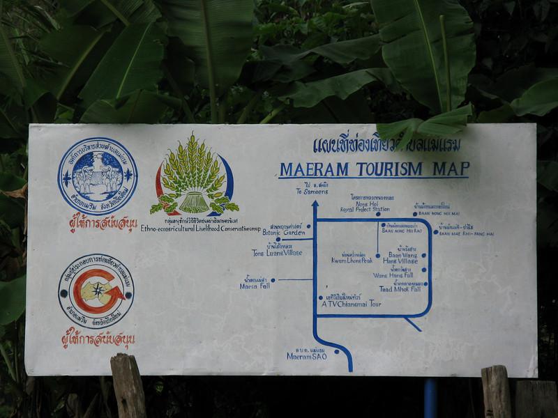 Maeram Tourism Map