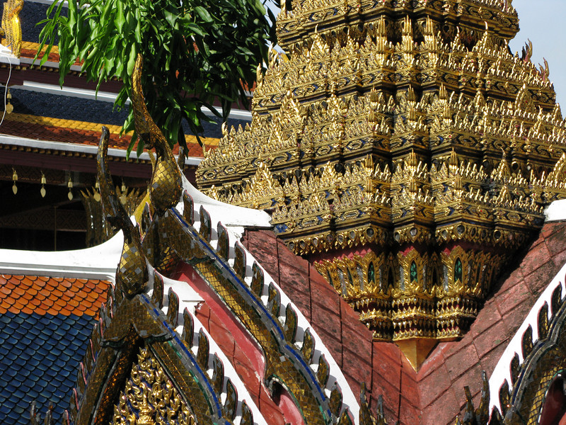 Grand Palace Architectural Details