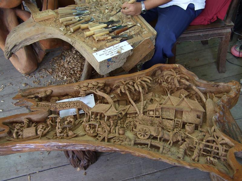 Custom wood crafts in Bangkok