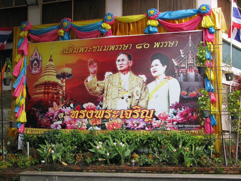 The King and Queen Welcome You to Thailand