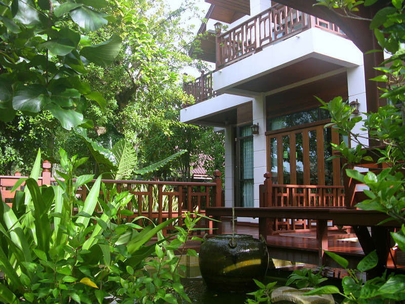 Bann Ampawa Resort on the Maeklong River