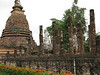 Budda Image and Ruins at Sukhothai Historical Park