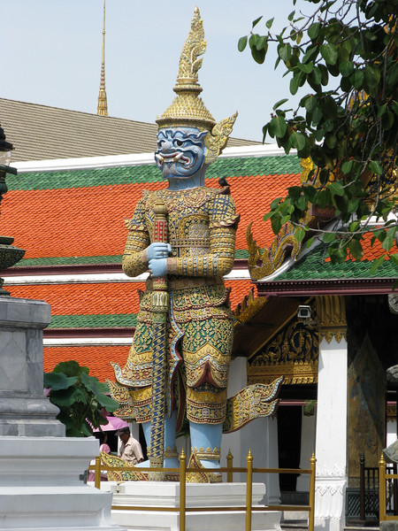 On the Grand Palace Grounds