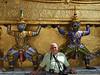 Tourist at the Emerald Budda Temple
