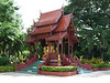Small Temple outside the hotel ,...