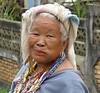 Karen Village woman chewing on Beetlenut