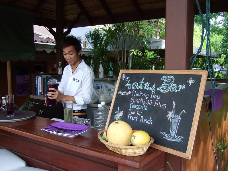Bar at the Bann Ampara Resort