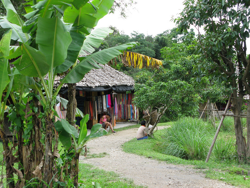 Trail in the Tribal Villages