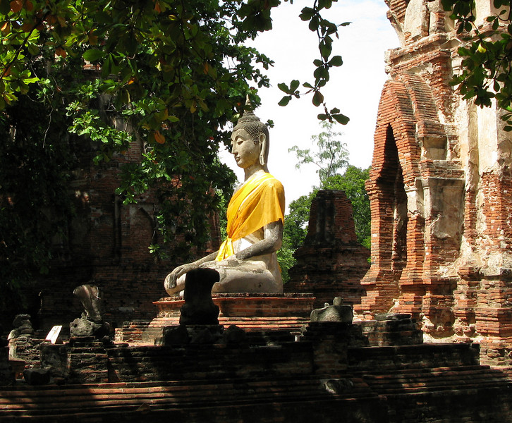 Budda Image at Ayutthaya
