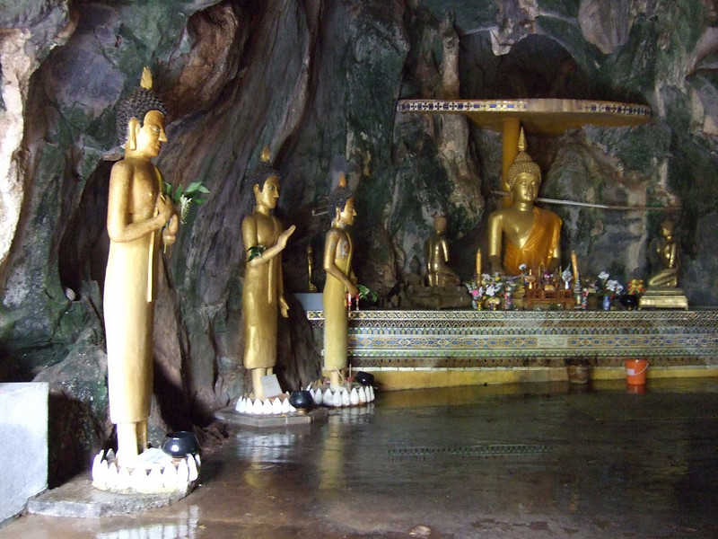 Budda Images in the Monk's Cave