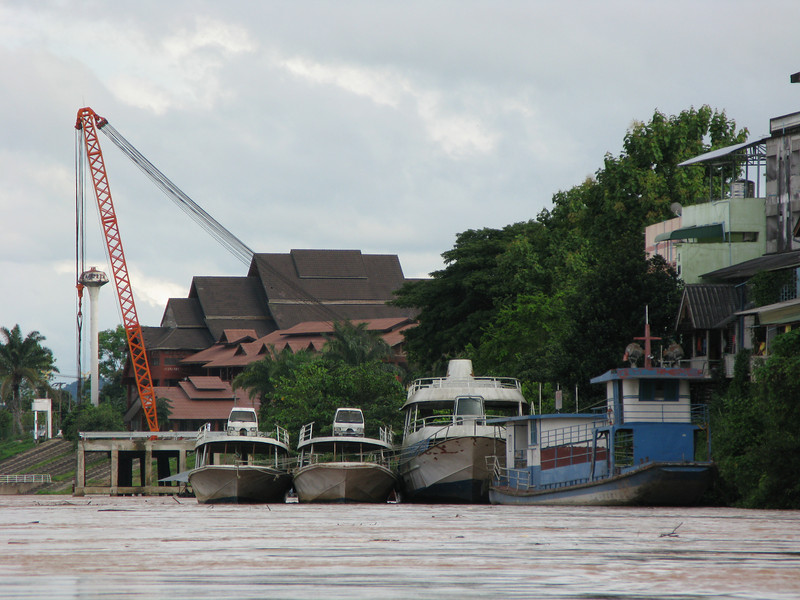 Activities on the Mae Kong River