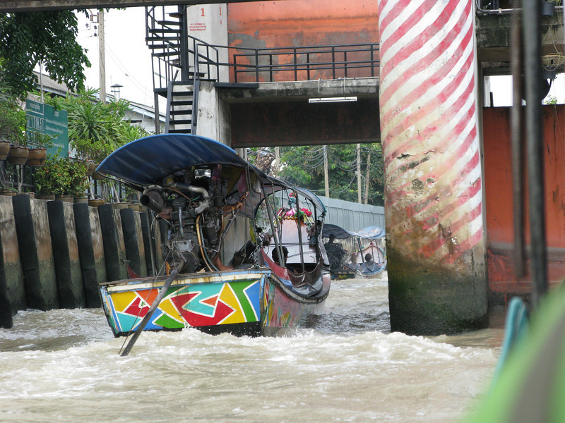 Kloungs Canal in Thonburi