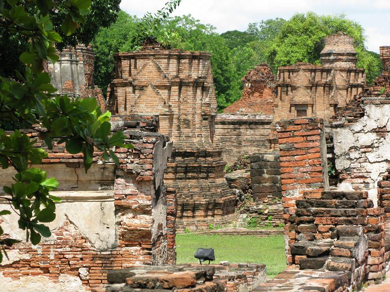 Ruins at Ayutthaya  1350 - 1767 AD