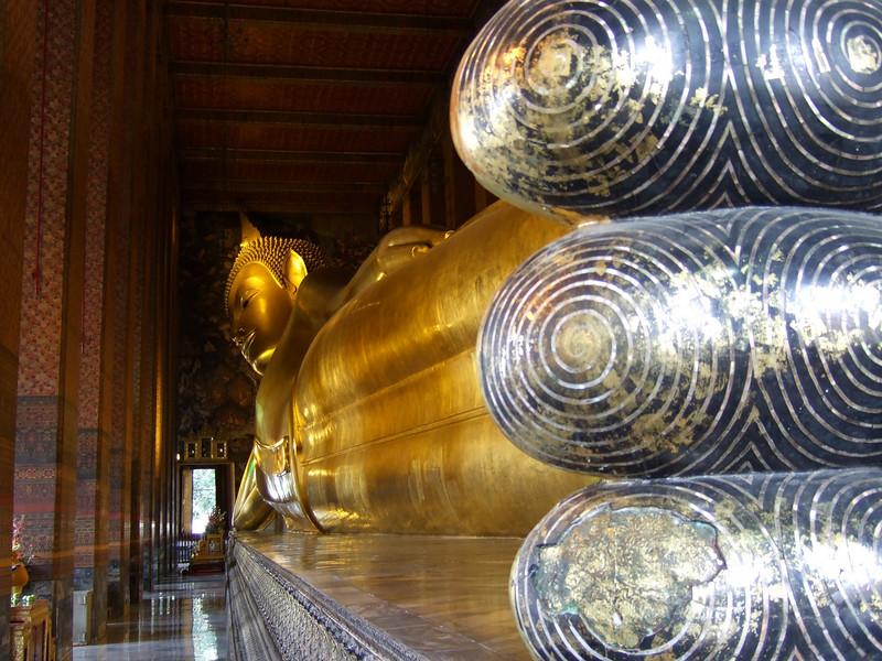 The Reclining Budda Image at Wat Po