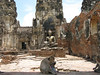 Budda Image at Wat Pra Prang Sam Yot (Monkey Town)
